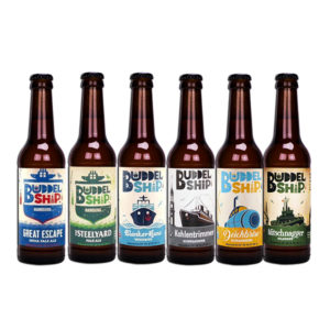 corerange Buddelship BA & Stout craft beers