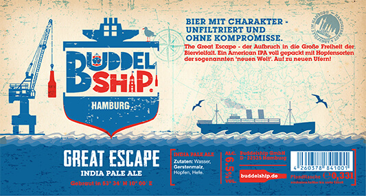 greatescape-IPA Buddelship BA & Stout craft beers