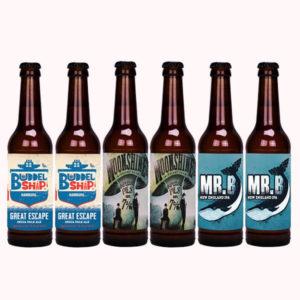 hoppyrange Buddelship BA & Stout craft beers