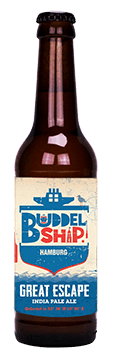 The Great Escape IPA BUDDELSHIP craft beer